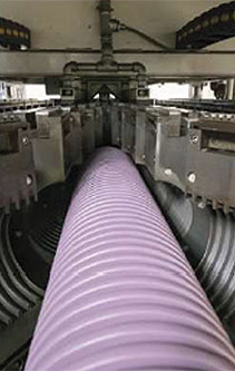 Fabricantes de tubería corrugada doble pared capa